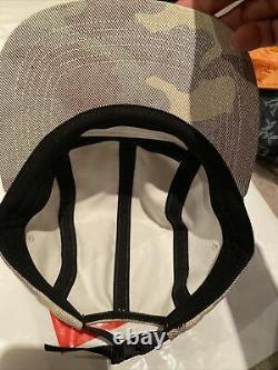Authentic Supreme Camp Cap Washed Out Green Camo