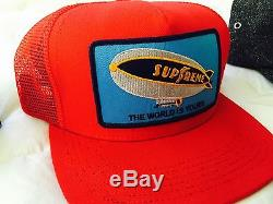 Lot of 5 Supreme Hats from 2012 (Camp Cap, 5-panel, Box, Canvas, Blimp, Donegal)