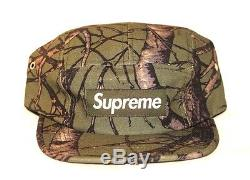 Rare Supreme Sample Tree Camo Camp Cap Olive Fw12 2012 Green Cdg Pcl Palace
