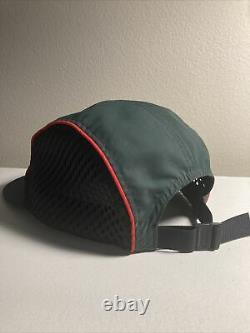SUPREME RACE CAMP CAP GREEN RED BLACK One Size spring summer 2017