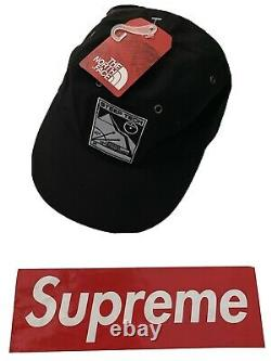 SUPREME x THE NORTH FACE STEEP TECH 6 PANEL CAP LIGHT BLUE TNF S/S 2016 CAMP HAT