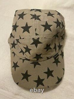 Supreme Camp Cap/Hat Stars grey and black Vintage early 1999-2000