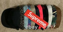 Supreme Camp Cap Lot of 12 New and Used Box Logo SS FW