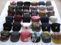 Supreme Camp Cap for Sale 3,4 row Chalk Tonal Logo 6panel Leopard CDG liberty