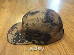 Supreme Dogs And Ducks Camp Caps Tan/Navy