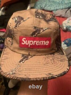 Supreme Dogs and Ducks Camp cap