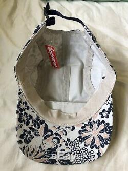 Supreme Floral Camp Cap from around 2009-2010