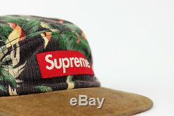 Supreme Floral Suede Camp Cap Natural SS12