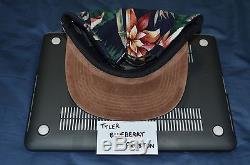 Supreme Floral Suede Camp Cap Navy S/S 2012 TNF CDG F/W Box Logo