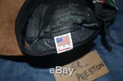 Supreme Floral Suede Camp Cap SS12 CDG Ali Neil ss fw S Logo TNF Steiff Cat Mane