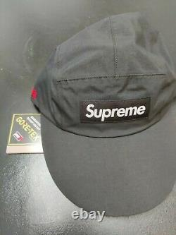 Supreme Gore Tex Long Bill Camp Cap Black SS21 Collection New