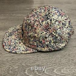 Supreme Liberty Splatter Camp Cap FW13 Authentic 5 Panel Supreme Hat Made In USA