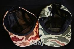 Supreme NY Camouflage'Utility Camo' Camp Cap Hat SS/13 Nas Arabic Clippers Bogo