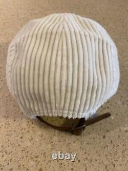 Supreme NY Wide Wale Corduroy Camp Cap Hat Natural SS20 Brand New