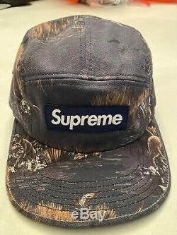Supreme New York Dog And Duck Camp Hat Navy FW12 AUTHENTIC