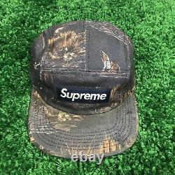 Supreme New York Dogs And Ducks Camp Cap Hat Navy FW12 AUTHENTIC