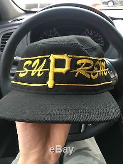 Supreme Pirates Pill Box Size. 7 5/8 NDS Camp Cap Snap RARE
