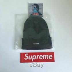 Supreme SS17 Overdyed Ribbed Beanie BOX LOGO HAT CLASSIC CAMP CAP WASHED CAMO DS