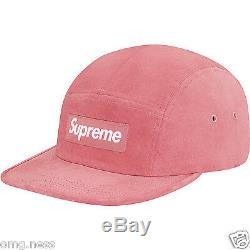 Supreme Suede Box Logo Camp Cat DUSTY PINK SS16 LIMITED & SOLD OUT