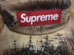 Supreme Tan Ducks Dogs Camp Cap FW12