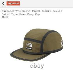 Supreme The North Face Summit Series Outer Tape Seam Camp Cap Olive SS21