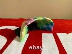 Supreme Tie Dye Camp Hat Cap Red Box Logo Authentic NEW SS 2013