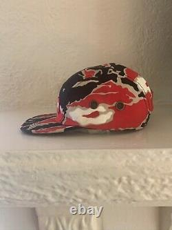 Supreme Tiger Camo Red S/S 2016 Camp Cap 5 Panel Hat Deadstock