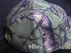 Supreme Tree Camo Camp Cap Hat FW12 ONLY ONE ON EBAY Olive Green BOX LOGO