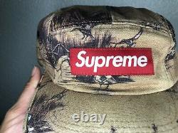 Supreme Vintage Ducks Dogs Camp Cap Snapback Pre-owned Authentic USA seller