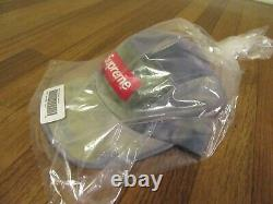 Supreme Washed Chino Twill Camp Cap Hat Multicolor SS21 Supreme New York 2021 DS