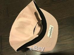 Supreme Washed Chino Twill Camp Cap Hat SS17 Pink