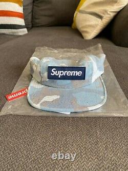 Supreme Washed Out Camo Camp Cap New With Store Tags