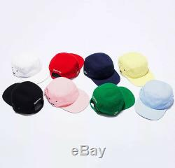 Supreme x Lacoste Pique Knit Camp Caps SS17 Brand New